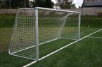 Bramka przenośna aluminiowa do piłki nożnej; 5x2m