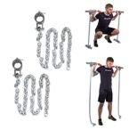 Łańcuchy treningowe na gryf 2x5 kg inSPORTline Chainbos
