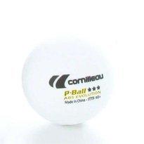 Piłeczki Cornilleau P-Ball ITTF białe 3 szt.