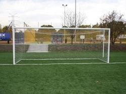 Bramka przenośna aluminiowa do piłki nożnej; 7,32x2,44m
