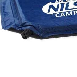 Mata samopompująca Nils Camp NC4301 Granatowa 186x53x2.5 CM