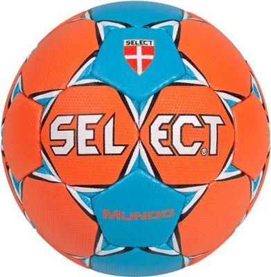 Piłka ręczna Select Mundo pomarańczowa